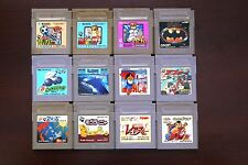 Game Boy GB Nekketsu Kunio-kun Soccer Batman The Sword of Hope JP 12 game lots