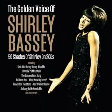 SHIRLEY BASSEY - THE GOLDEN VOICE OF - 50 SHADES OF SHIRLEY (NEW SEALED 2CD)