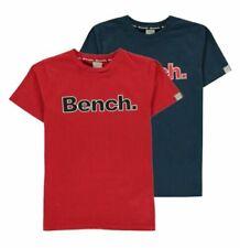 Bench Boys 100% Cotton Short Sleeve T-Shirts, Tops & Shirts for Boys