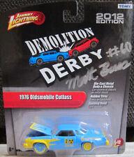 1:64 Johnny Lightning Demolition Derby '76 Olds Cutlass - driver signed