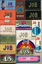 LOTTO JOB 17 pezzi rolling papers cartine sigarette vintage