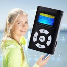 Mp3 Player Portable Music Digital Screen Mini Lcd Clip Micro Fm Support Sd Card