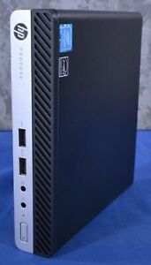HP Prodesk 400 G3 Tiny G4400T 2.9GHz 4GB NO HDD NO OS A030801