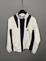 ADIDAS EQUIPMENT TRACK Jacket - XL - White - Good Condition - Men's