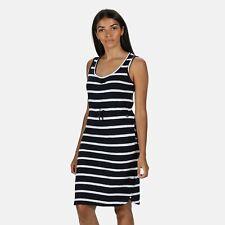 Regatta Women's Felixia Striped Sleeveless Dress Blue
