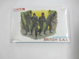 DML 6501 BRITISH S.A.S. 1/35 Urban Elite Series Model Kit Sealed New