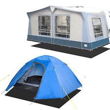 Goldcamp ECO Bodenmatte Teppich/Zelt Unterlage schwarz 2,5 x 5 m für Wohnmobil