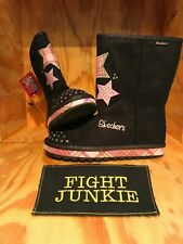 NWT Skechers Sketchers Twinkle Toes Kids Girls Youth Boots!