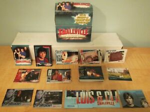 2005 Inkworks Smallville Season 4 Complete Set of 90 + 6 Inserts Trading Cards