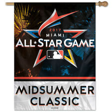 "MLB All Star Game Miami 2017 Vertical Flag 28"" x 40"""