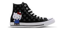 Hello Kitty x Converse Kawaii Sanrio Hi Top Black Stars Size UK 6 EU 39