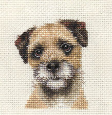 BORDER TERRIER ~ Dog, Puppy, Full counted cross stitch kit + All materials