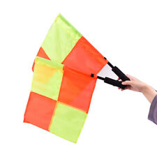 1Pc Soccer Referee Flag Professional Fair Football Linesman Sport Game EquipNwus