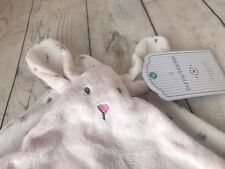 Comforter Mothercare Bunny Comforter Pink Blanket Soother Rabbit Soft Fluffy Toy