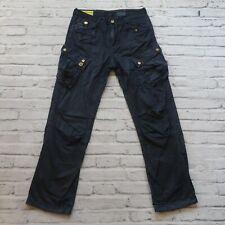 Gstar Raw Cargo Pants Jeans Size 32 Navy Straight