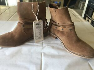 brown suede boots 38