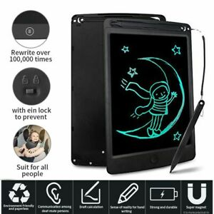 Graphics Erasable Drawing Pad LCD Writing Tablet Memo Notepad Kids Doodle Board