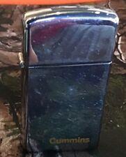 Vintage 1960s ZIPPO Advertising Lighter - CUMMINS Engines