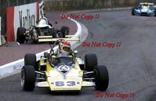 Tony Brise Team Kent Messenger Racing GRD 373 Monaco F3 Race 1973 Photograph 1