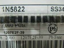 100PCS SS34 1N5822 3A/40V SMA DO-214AC SMD Schottky Diodes NEW
