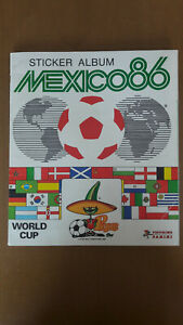 Panini Mexico 86 World Cup Sticker Album 100% Complete Good Condition No Writing