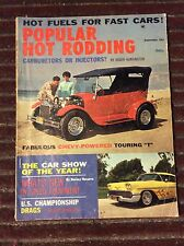 Sept 1962 Popular Hot Rodding Dyno Don Ramchargers Prudhomme Tony Nancy Corvair