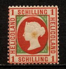 (YYAD 824) Heligoland 1873 MH ERROR Mich 7 Scott 6 Helgoland