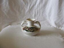 Vintage Hand Made Porcelain Two Handle Posy Vase ~ Cre Ireland Signed Joe McCaul