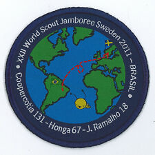 2011 World Scout Jamboree BRAZIL / BRASIL COOPERCOTIA SCOUTS Contingent Patch