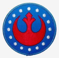 "Star Wars New Republic Rebel Alliance Rogue Embroidered Iron On Patch (3.0"")"