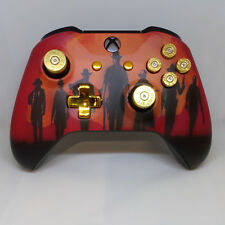 Custom Xbox One Controller 'Red Dead Redemption 2' w/ Bullet Button Set (Matte)