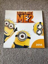 Despicable Me 2 Calendar 2014 Wall Desk Calendar