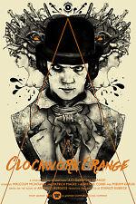 A Clockwork Orange Alt Movie Poster Mondo Artist Nikita Kaun No./95 NT Kurtz