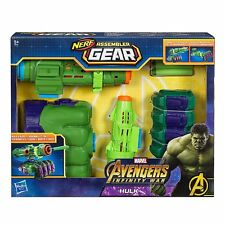 The Avengers Marvel Infinity War Nerf Hulk Assembler Gear