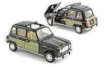 1:18 NEUHEIT Norev -  1963 Renault 4L Parisienne Black and Yellow