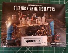Secteur MECHANICUS terrain. thermique Plasma réacteur carotte