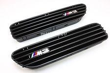 01-06 BMW E46 CSL/SMG 2D 4D M3 BLACK Side Fender Grille GRILL Vents