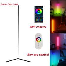 RGB Modern Lamp LED Corner Floor Light Strip for Living...