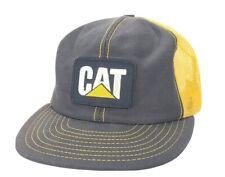 Vintage Caterpillar Patch Cat Snapback Louisville MFG Cap Hat USA A2