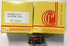 "2 Vintage DCR Inked Ribbon Friden A.M. Blk-Red  Rec. ""M"" Brand New Old Stock"