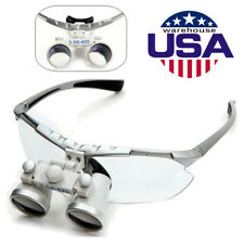 Dental Surgical Medical Binocular Loupes 3.5X 420mm Glasses Loupe Lens Magnifier