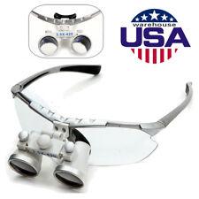 Dental Surgical Medical Binocular Loupes 35x 420mm Glasses Loupe Lens Magnifier