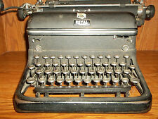 Grandpa's antique Royal typewriter KHT12 inch carriage 1938 quite rare, working!