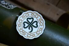 Celtic Shamrock, Clover Leaves, Tactical morale Pvc military patch