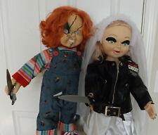 """Chucky & Bride Of Chucky 24"""" Tiffany Doll LIFE SIZE Child's Play"""