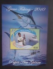 Papua New Guinea 2010 Game Fishing MS MS1413 MNH UM unmounted mint
