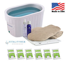New Therabath Professional Paraffin ThermoTherapy Heat Bath + Hand Kit ComforKit