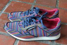Women's UNITED NUDE Sneakers Runner Rainbow Kaleidoscope Size 41 NEVER WORN!