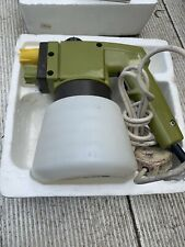 Vintage British Made Burgess Powerline VS 646 Electric Sprayer Boxed VGC Upcycle