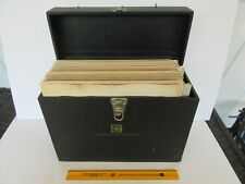 Vintage 1940's / 50's Educational Insect & More Anatomy Projector Slides w/ Case